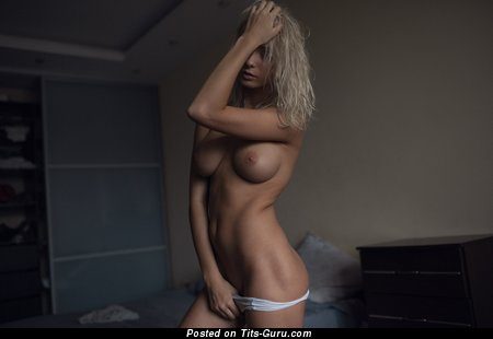 Image. Catherine Tokaeva - nude blonde with big natural boobies pic