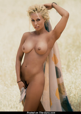 Fiona Horne - nude blonde with big natural tittes photo