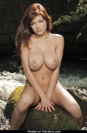 Tessa Fowler - Superb Glamour & Topless American Red Hair Pornstar & Babe with Superb Defenseless Natural Hefty Titties, Puffy Nipples, Sexy Legs is Smoking (Porn Pix)