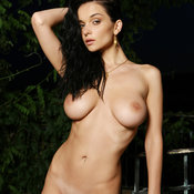 Jenya D - awesome lady with big natural breast pic