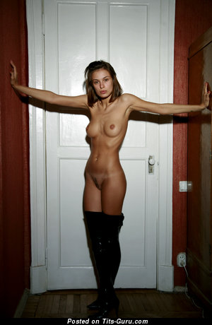 Image. Nude amazing girl with natural tits picture