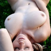 Wonderful woman with big natural breast picture