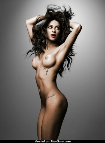 Thaila Ayala: sexy topless awesome woman with natural boobs image
