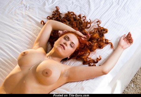 Lillith Von Titz - Fascinating Russian Red Hair Babe with Stunning Open Fake Regular Breasts (Hd Xxx Foto)