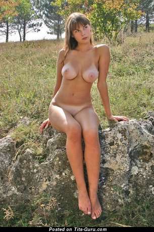 Image. Sexy topless amateur awesome female with big natural tittys photo