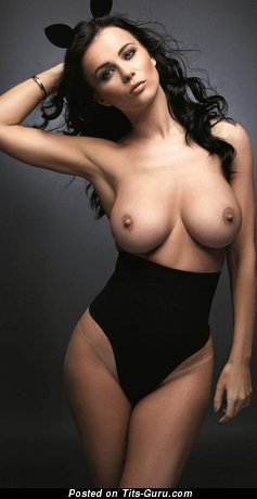 Image. Brunette with big natural tittys pic