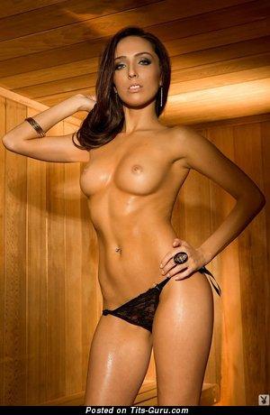 Image. Naked hot girl with medium tots photo