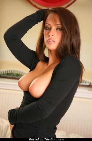 Anastasia Harris - sexy naked nice lady with big natural tits photo