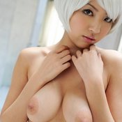 Kazuki Asou - asian with medium natural boobs image