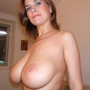 Sexy topless amateur wonderful lady with big natural tittys picture