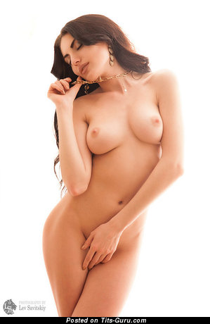 Image. Naked wonderful girl with medium natural boob pic