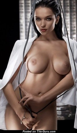 Dazzling Babe with Dazzling Naked Dd Size Tittys & Inverted Nipples (Sexual Pix)