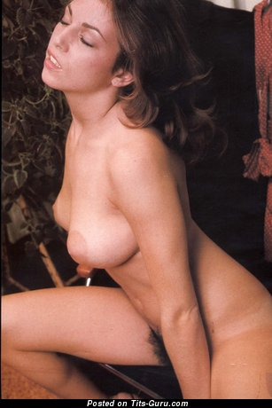Image. Linda Gordon - hot girl with natural tittes and big nipples vintage