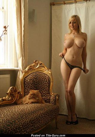 Rachel Brownsword - Cute British Blonde Babe with Cute Exposed Full Titties (18+ Pix)