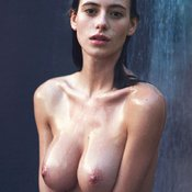 Wet brunette picture