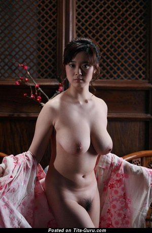 Image. Asian with big natural tots and big nipples picture
