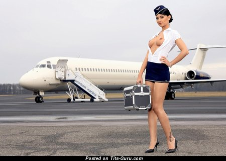 Image. Brunette with medium tittes pic