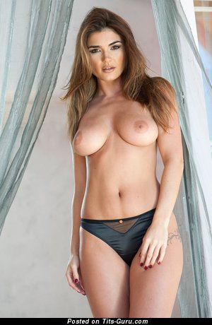 Image. Nude wonderful female with medium natural tittes picture