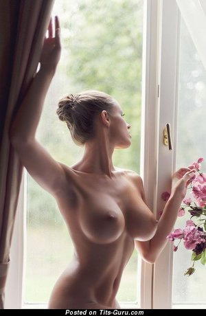 Perfect Lassie with Perfect Defenseless Firm Jugs (Sex Photoshoot)