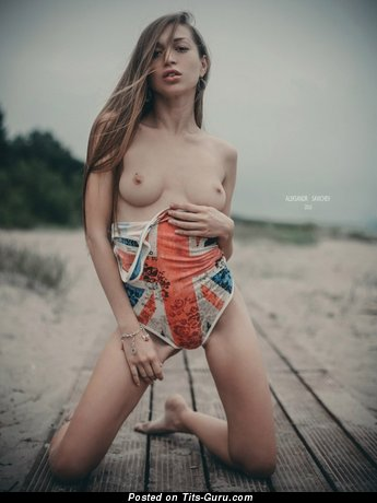 Galya Fedorova - sexy naked nice lady with natural boobies photo