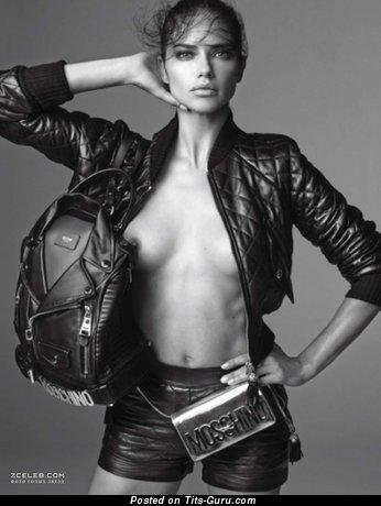 Adriana Lima - sexy naked beautiful girl image