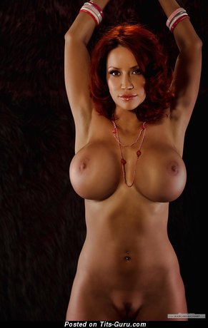 Image. Bianca Beauchamp - naked brunette with big fake tits picture