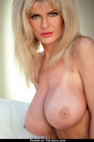 Julianna Young - Wonderful American Blonde Babe with Wonderful Nude Regular Knockers (Sex Photo)