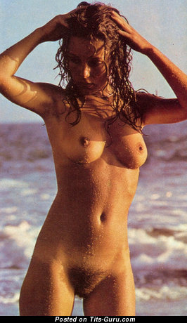 Image. Anita Hemmings - nude wonderful lady with medium natural breast photo