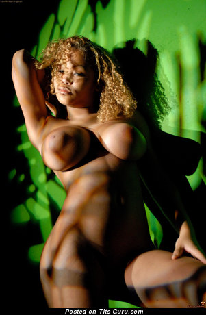 Image. Louis De Mirabert - naked ebony with big tits picture