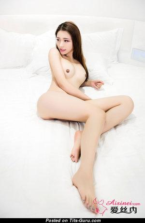 Cute Topless Asian Babe (Hd 18+ Photo)