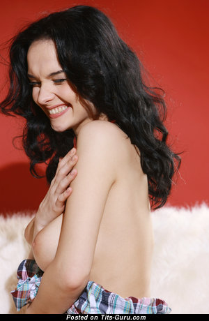 Eugenia Diordiychuk - Splendid Ukrainian Moll with Splendid Defenseless Natural D Size Breasts (Hd Porn Photo)