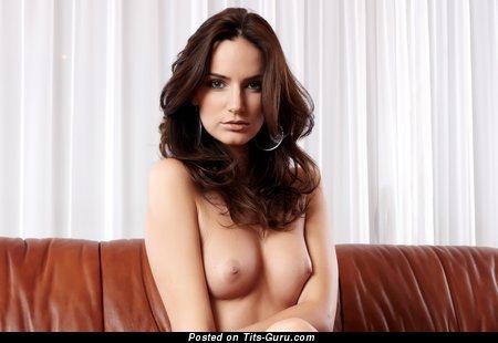 Image. Naked amazing female with medium natural tittes image