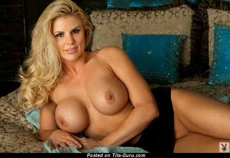 Image. Julia Morse - blonde with big fake tits picture