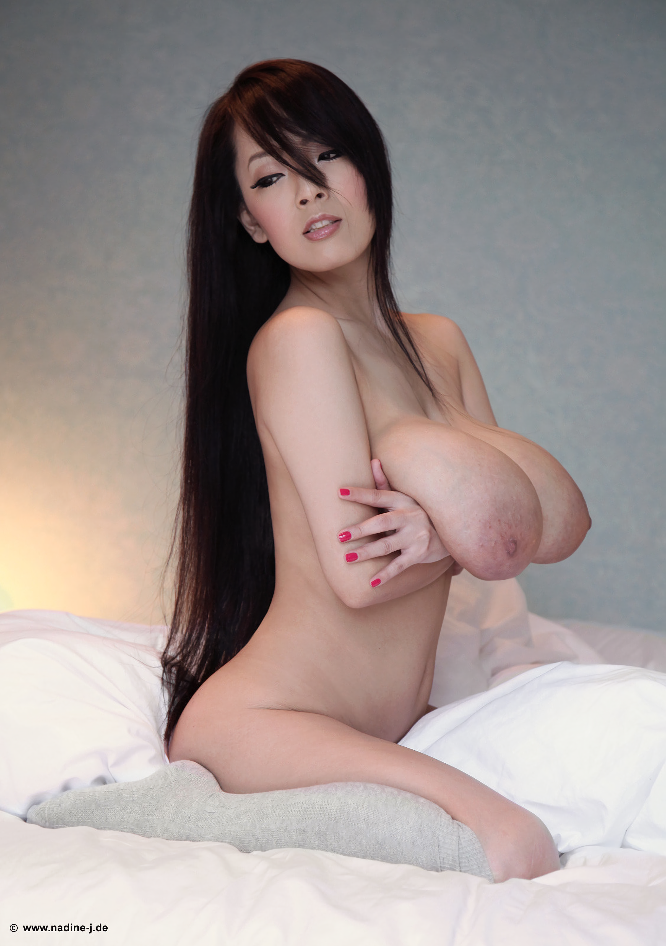 Hitomi Tanaka - Topless Asian Brunette Pornstar With Nude -8873