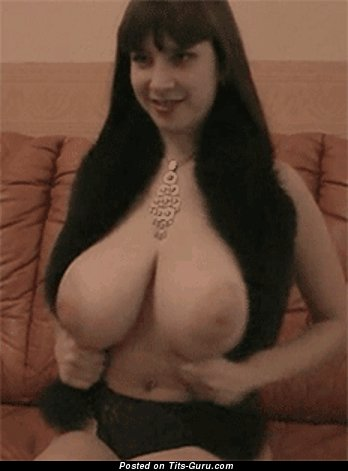 Image. Wonderful female with big natural boobies gif