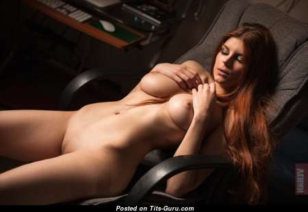 Nadezhda Remar - Yummy Topless Bimbo with Yummy Defenseless Real Med Breasts (Sex Foto)