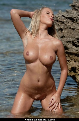 Cikita - Superb Czech Blonde with Superb Defenseless Fake Regular Boobys (Hd Sexual Photoshoot)