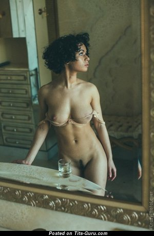 Image. Nude hot lady with natural tots photo