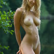 Awesome female with big tittes photo