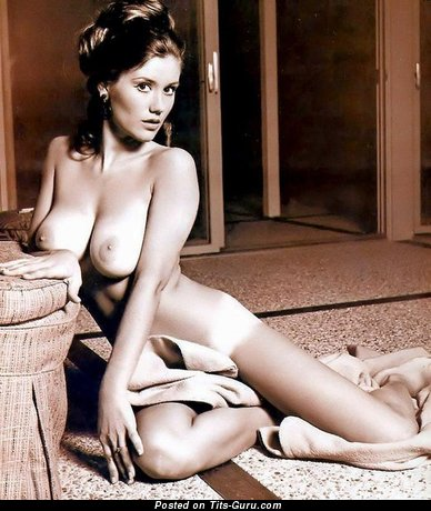 Image. Candy Earle - naked amazing female with big natural breast vintage