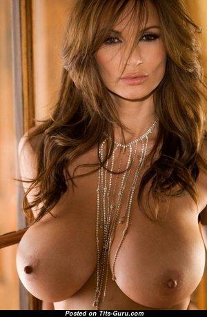 Petra Verkaik - Pretty American Playboy Red Hair Babe with Pretty Bald Very Big Balloons (18+ Pic)
