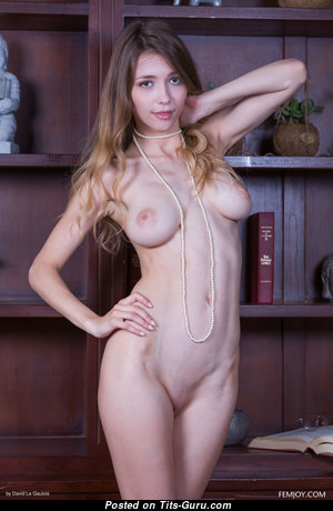 Milla D - Dazzling Glamour & Topless Blonde Pornstar with Dazzling Naked Real Tots & Giant Nipples (4k Sexual Wallpaper)