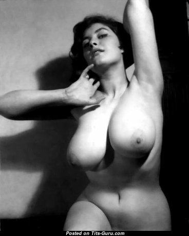 Ann Austin - Grand British Doxy with Grand Open Mega Titties (Vintage Sex Image)