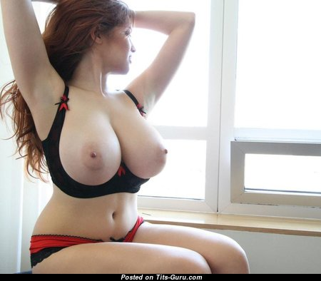 Good-Looking Babe with Good-Looking Bald Great Breasts (Sex Pix)