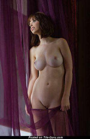 Image. Nude awesome woman with big natural boob image