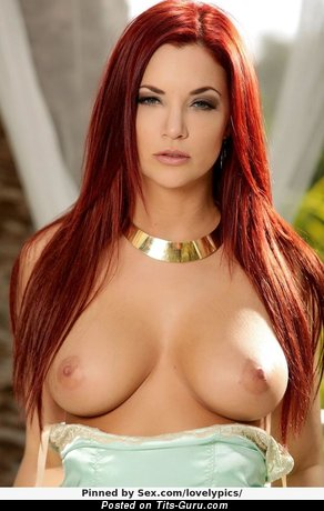 Image. Jayden Cole - naked red hair with big natural tots pic