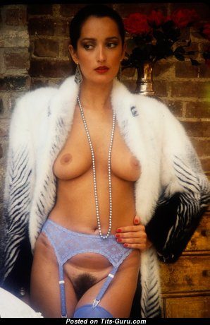 Isabella Ardigo - Sweet Topless Girl with Sweet Exposed Natural Knockers (Vintage 18+ Photo)
