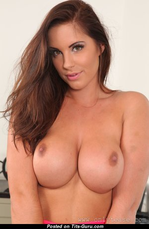 Charming Unclothed Brunette Babe (Hd Porn Pic)
