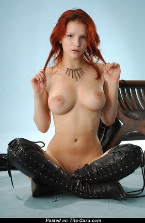 Image. Ulya I - sexy naked red hair with medium natural tits pic