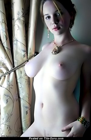 Image. Wonderful girl with medium natural boob picture